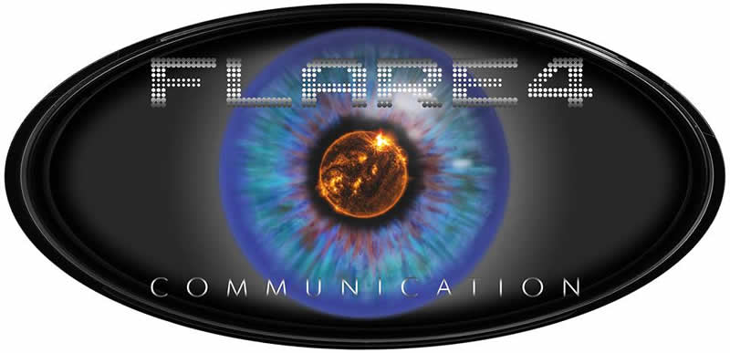 flare4 communication logo header